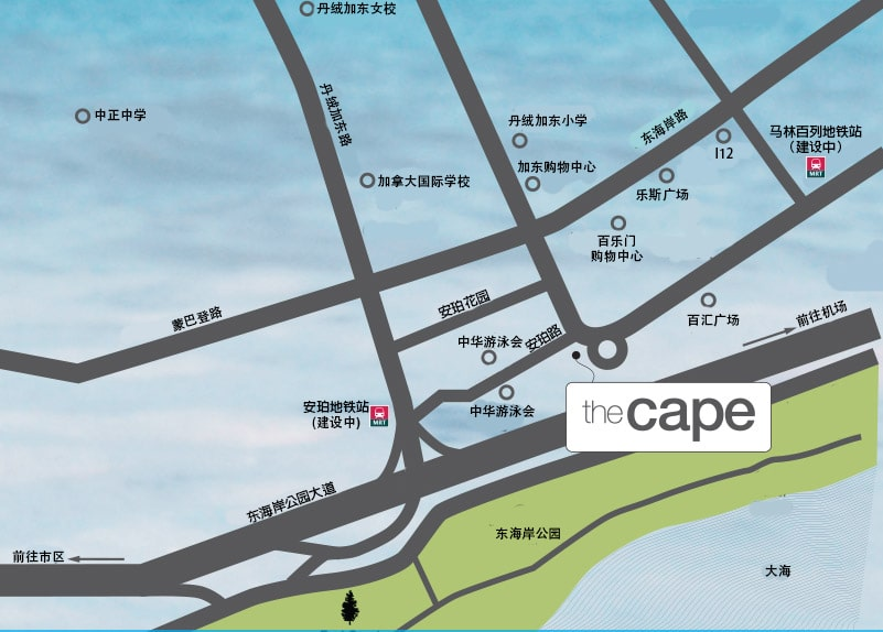 The Cape 位置