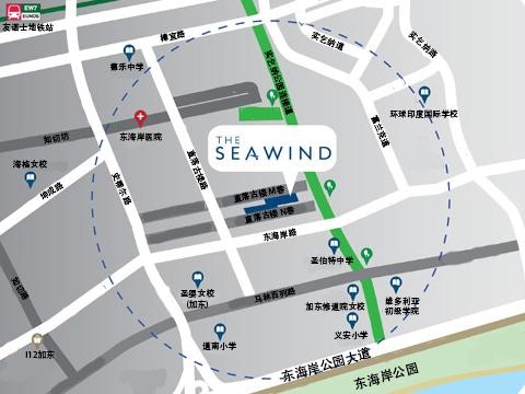 The Seawind 海风苑 位置