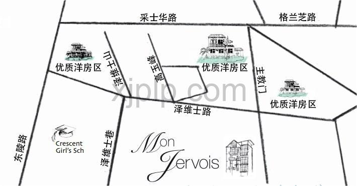 Mon Jervois CN Map