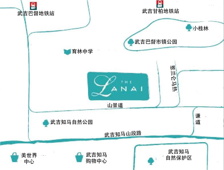 The Lanai 位置