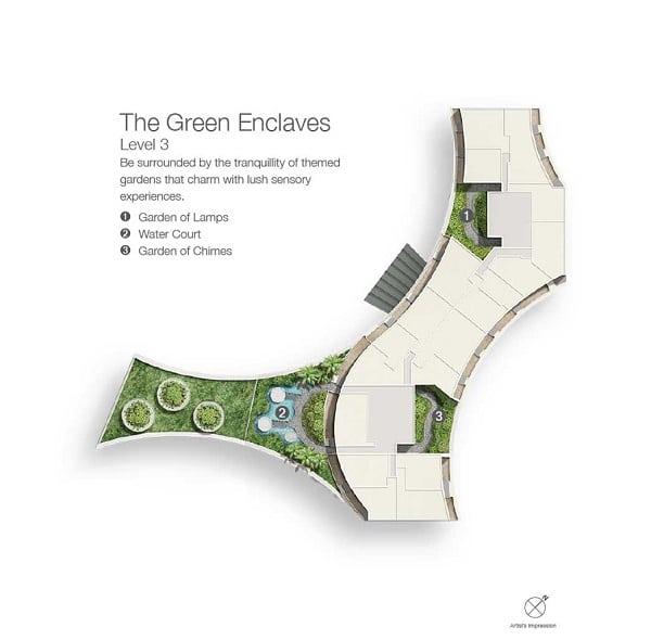 Duo Residences site plan 3