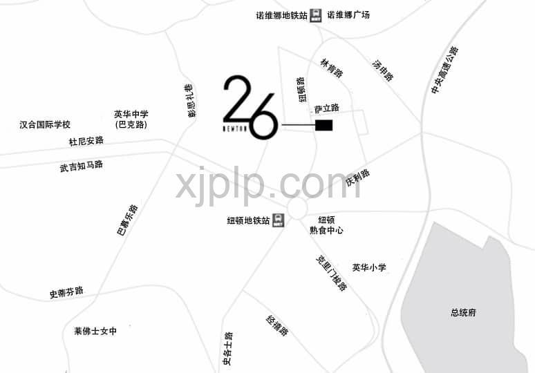 26 Newton CN Map