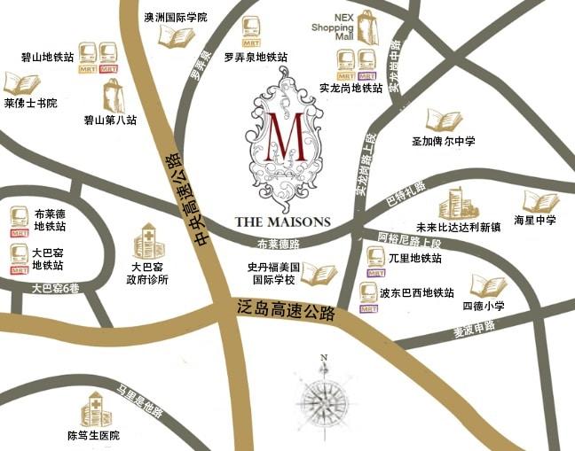 The Maison 位置