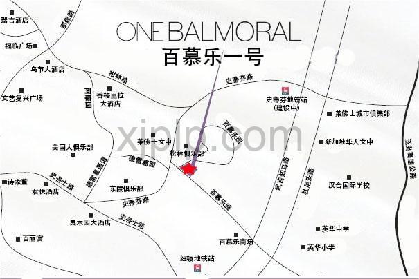 One Balmoral CN Map