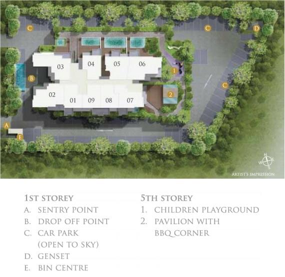 26 Newton 26纽顿 规划设计图与设施