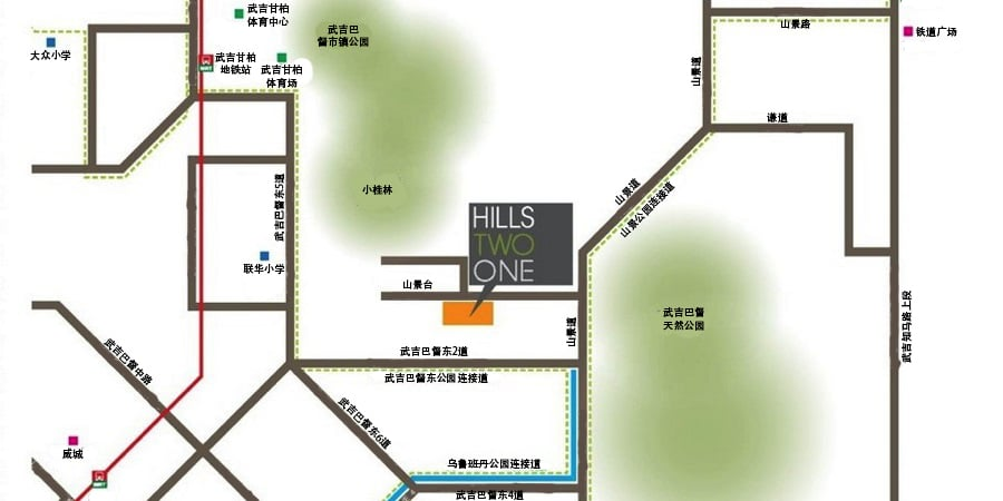 Hills TwoOne 位置
