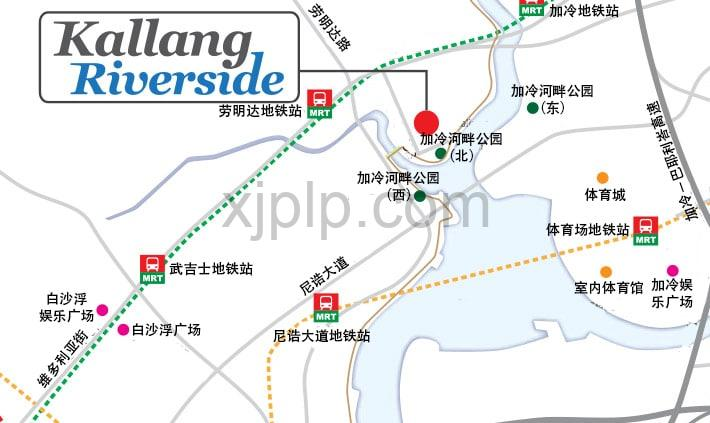 Kallang Riverside CN Map