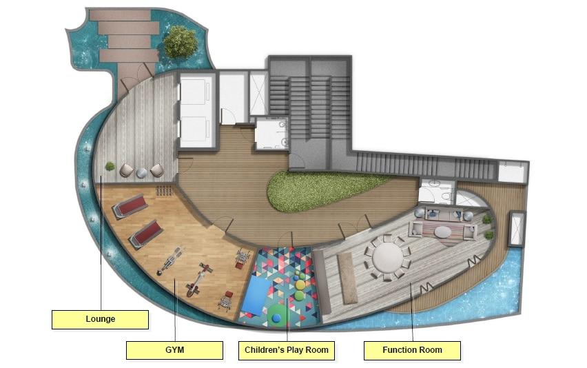 Stars of Kovan 高文之星 规划设计图与设施 2