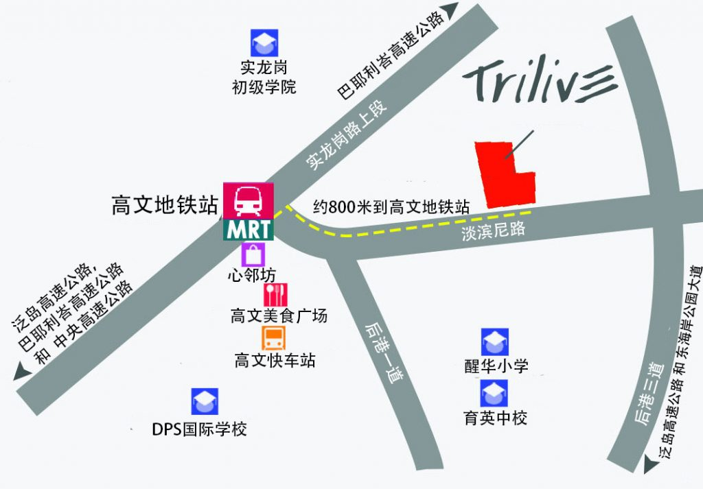 Trilive chinese Map