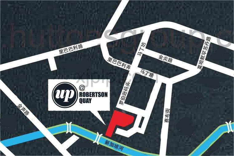 UP@Robertson Quay CN Map