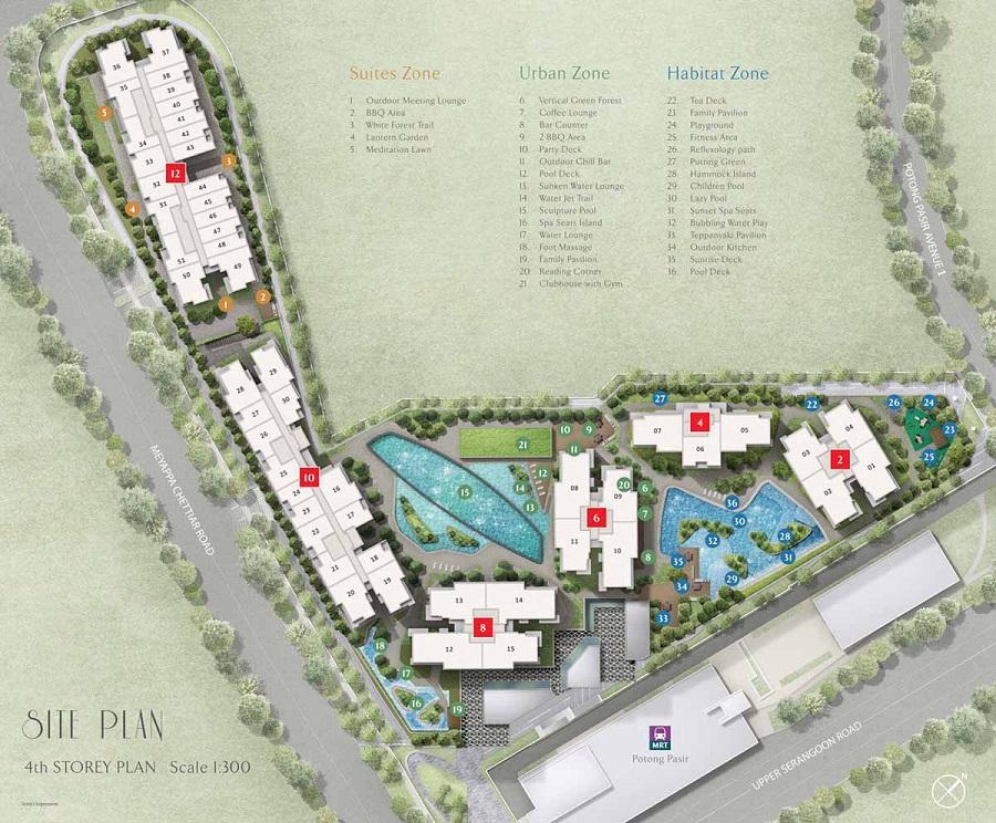 The Poiz Residences 博雅居 设施