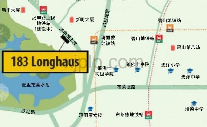 183 Longhaus CN Map