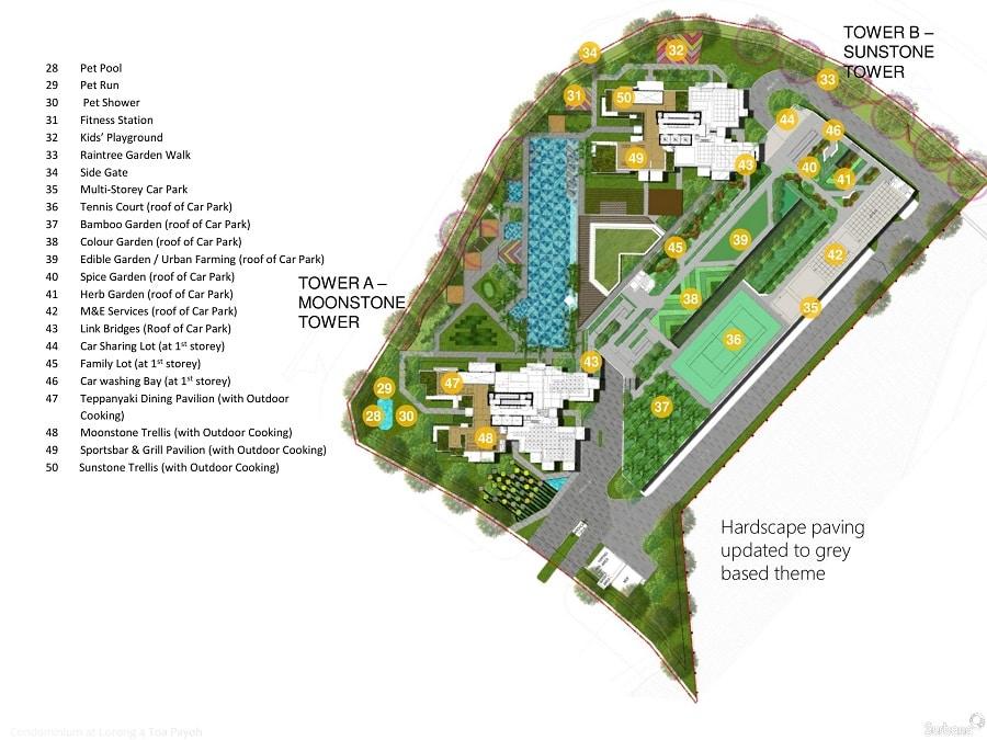 Gem Residences 规划设计图与设施 2