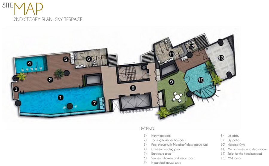 8 Raja Site Plan
