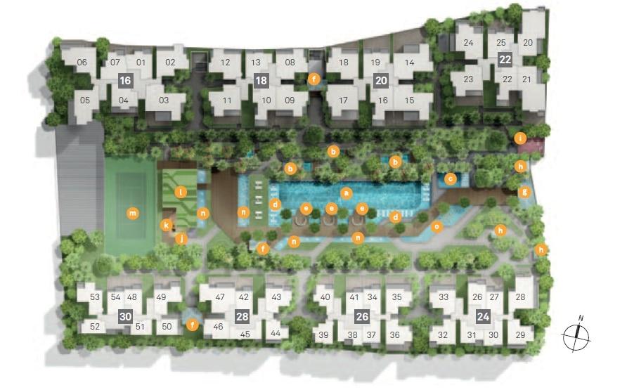 Bedok Residences Site Plan 1