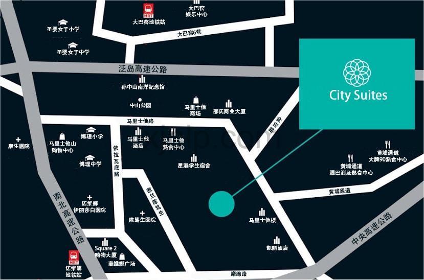 City Suites CN Map