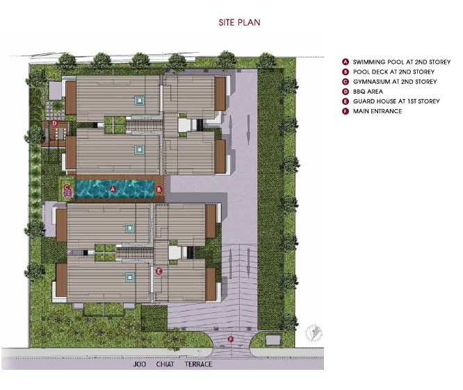 One Eighties Residences Site Plan