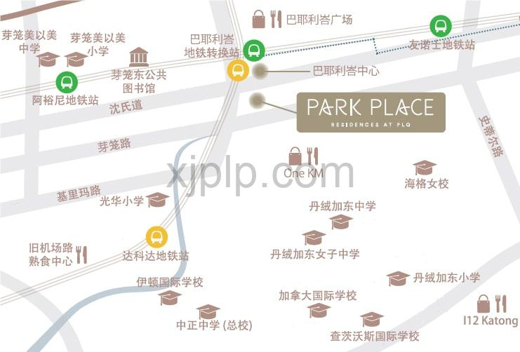 Park Place Residences CN Map