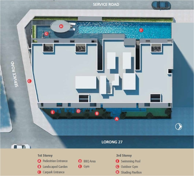 The Centren Site Plan