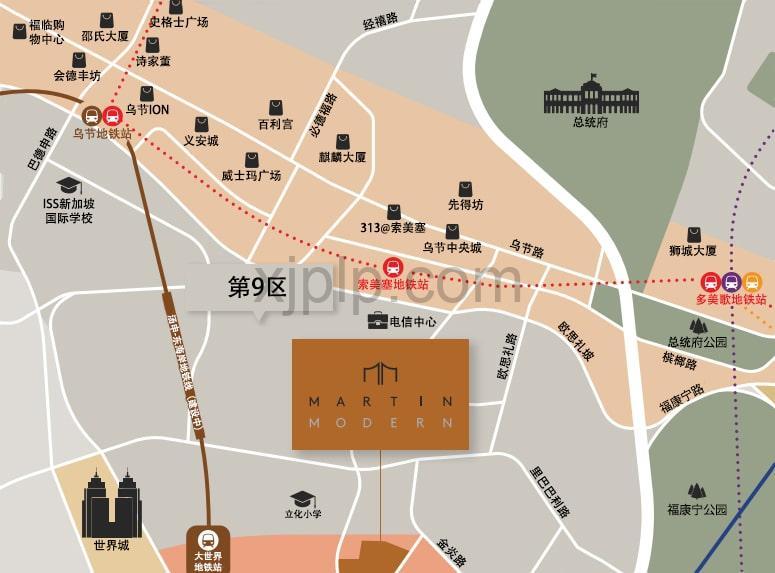 Martin Modern CN Map