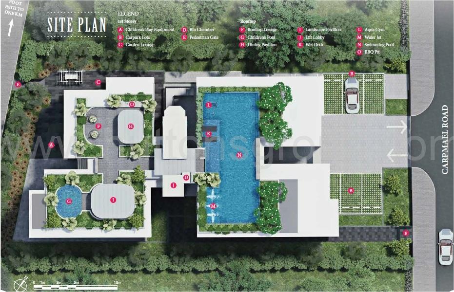Carpmael Thirty-Eight Site Plan