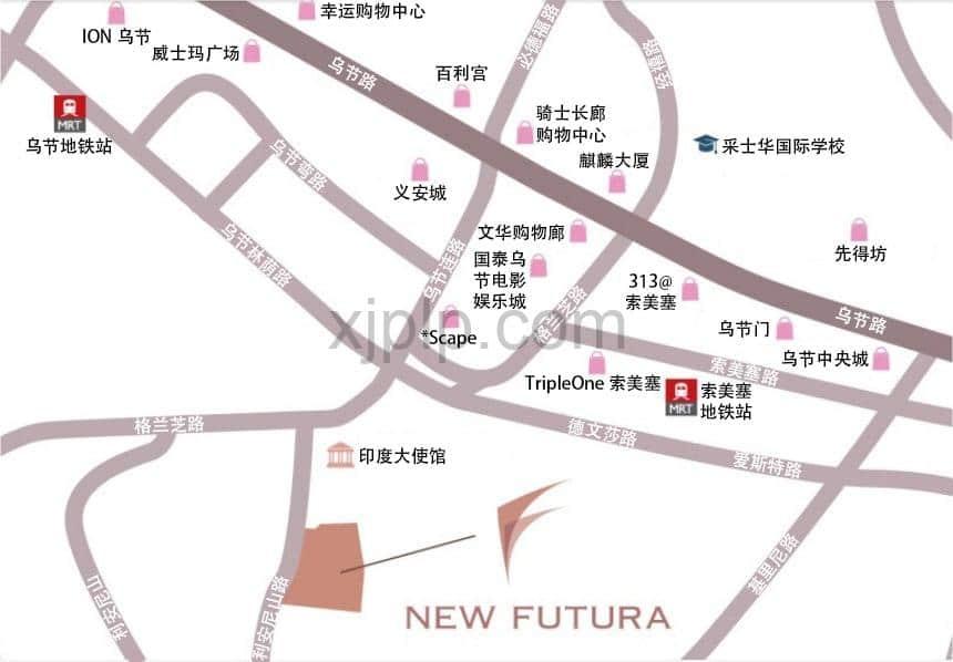 New Futura CN Map