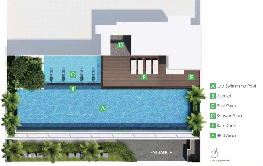 Park 1 Suites Site Plan