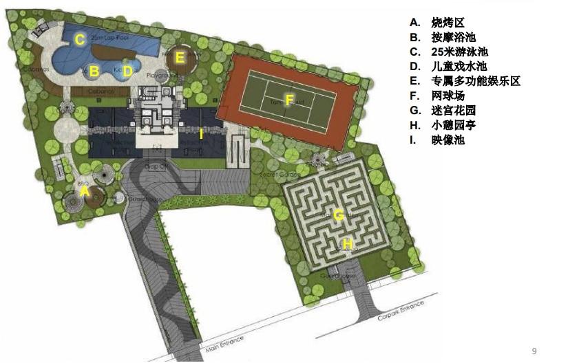 The Ritz Carlton Residences Site Plan C