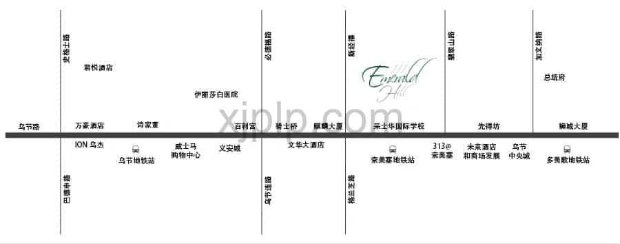 111 Emerald Hill CN Map