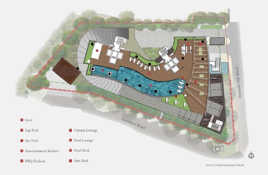111 Emerald Hill Site Plan