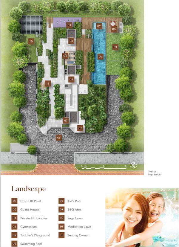 8 Hullet Site Plan