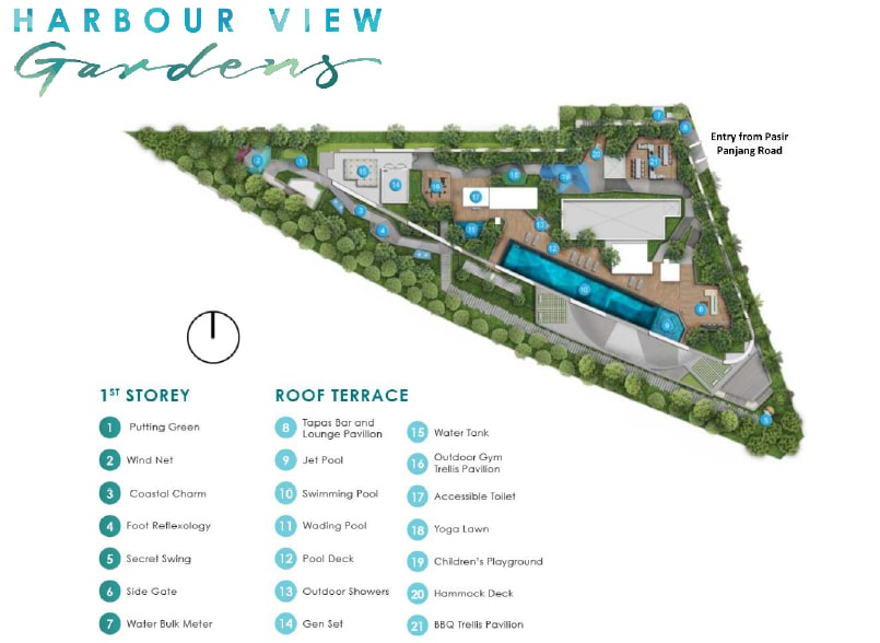 Harbour View Gardens 港景园 Site Plan 1