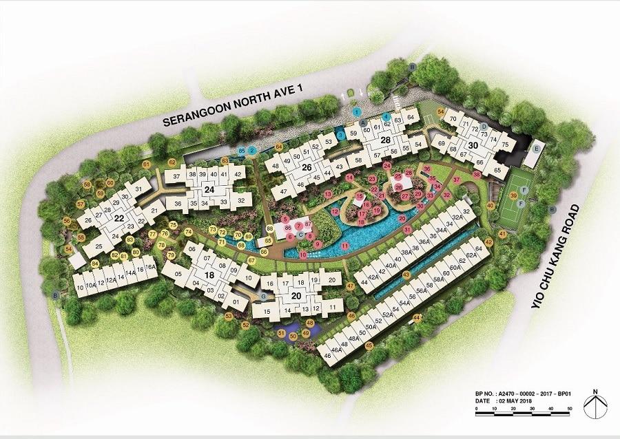 Affinity at Serangoon Site Plan 1
