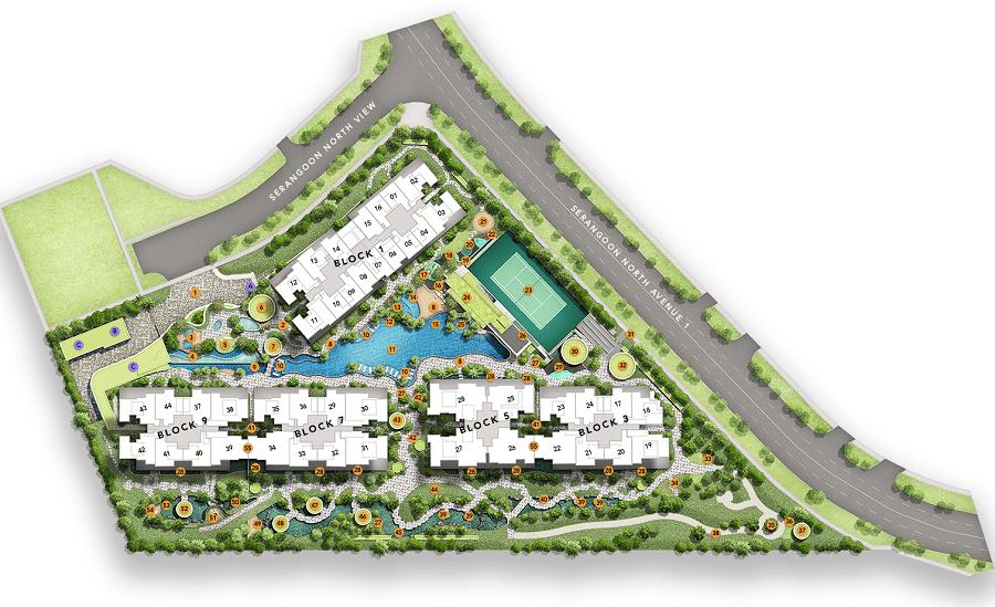 The Garden Residences Facilities