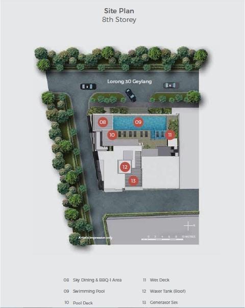 33 Residences Site Plan 2