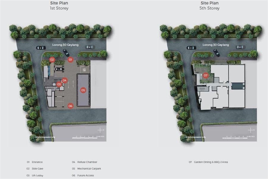 33 Residences Site Plan