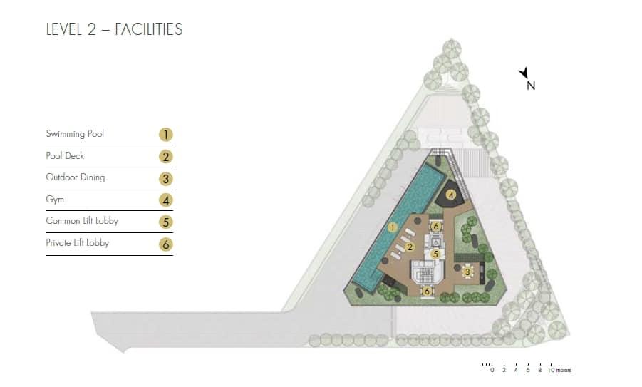 One Draycott Site Plan 2