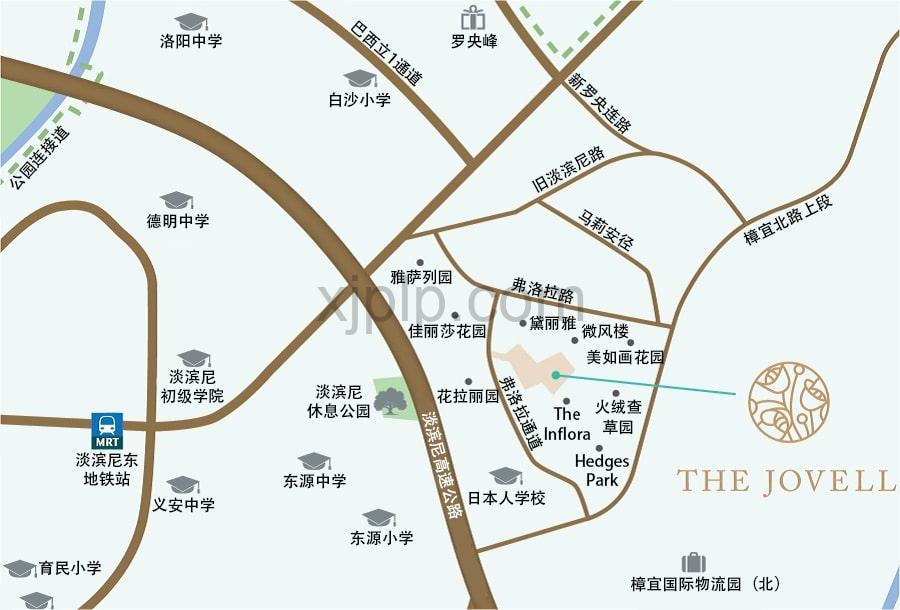 The Jovell CN Map