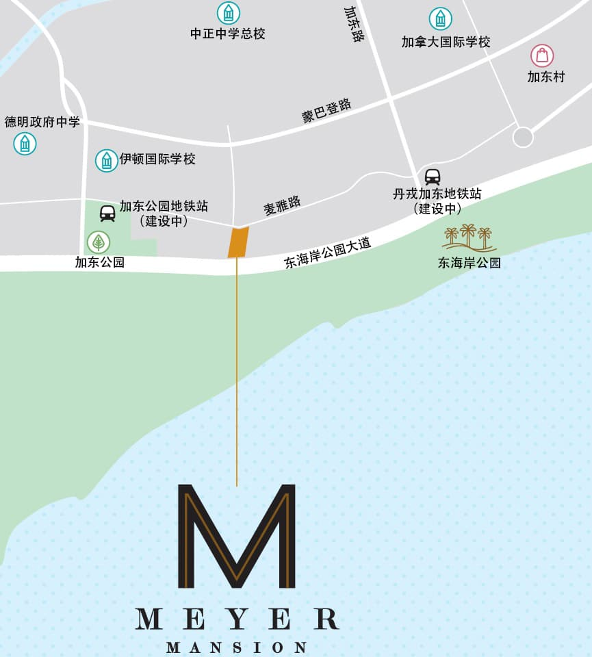 Meyer Mansion Location Map CN