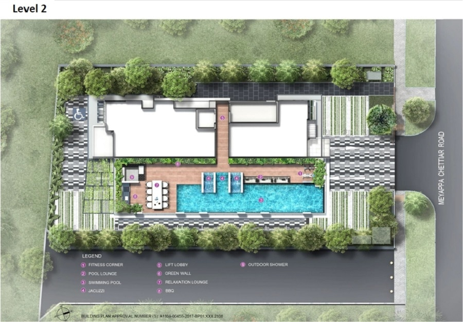 The Addition Site Plan 2