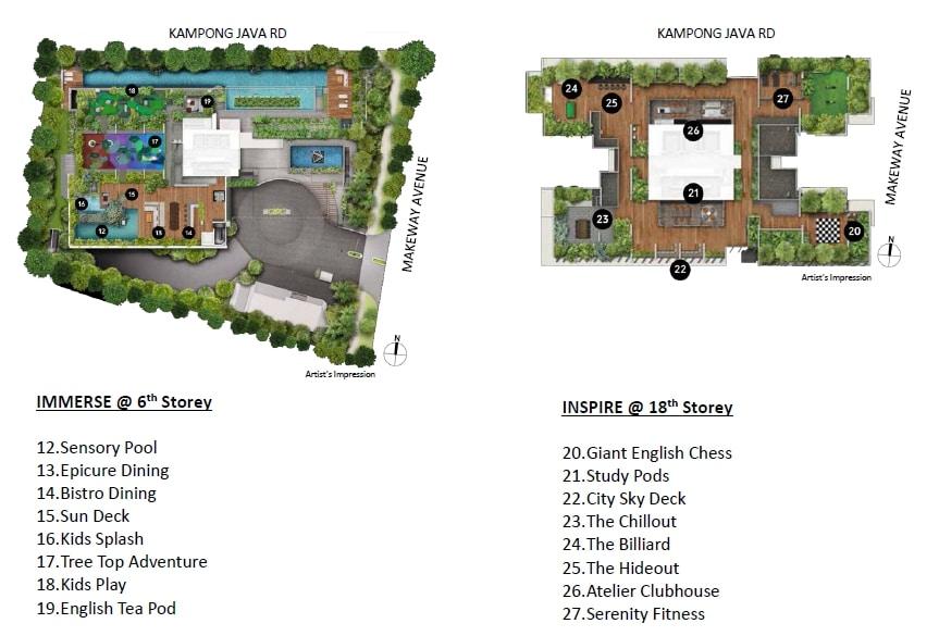The Atelier Site Plan 2