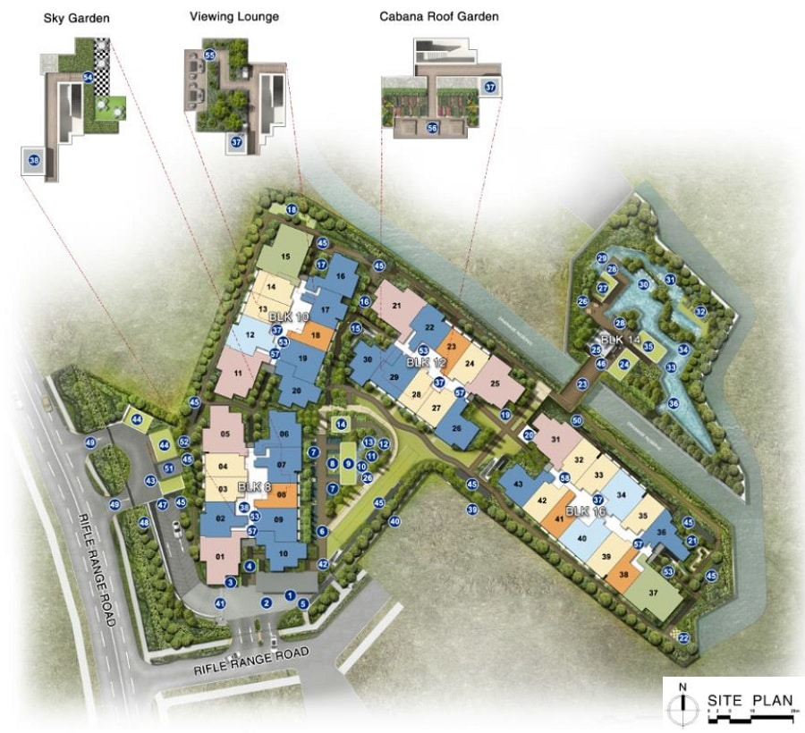 Mayfair Gardens Site Plan 1