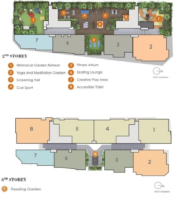 Arena Residences Site Plan 1