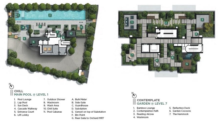 III Cuscaden Site Plan 1