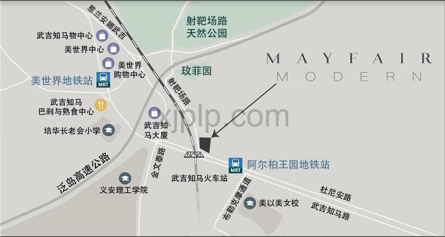 Mayfair Modern CN Map