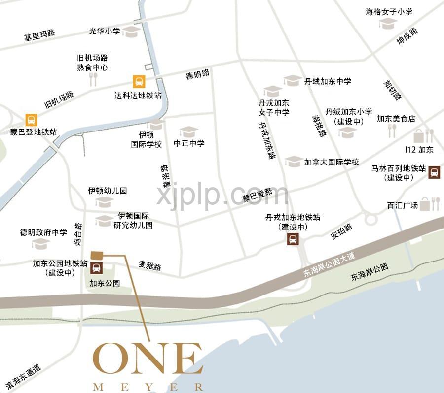 One Meyer CN Map