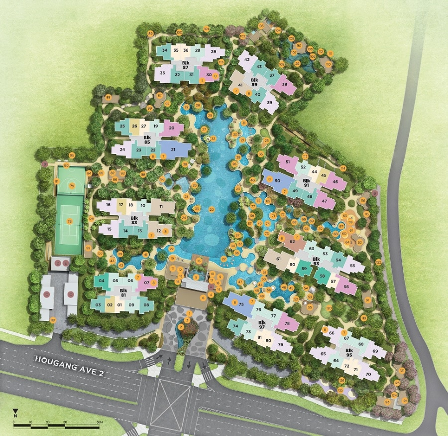 The Florence Residences Site Plan 1