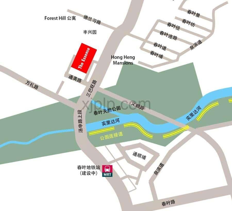 The Essence CN Map