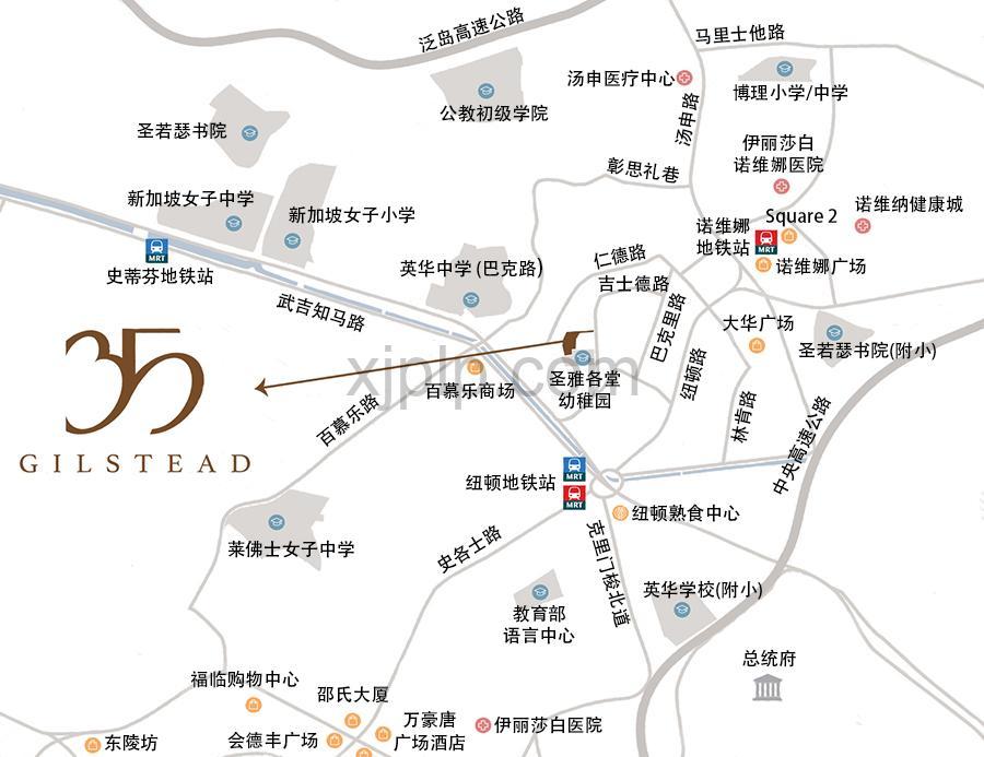 35 Gilstead CN Map
