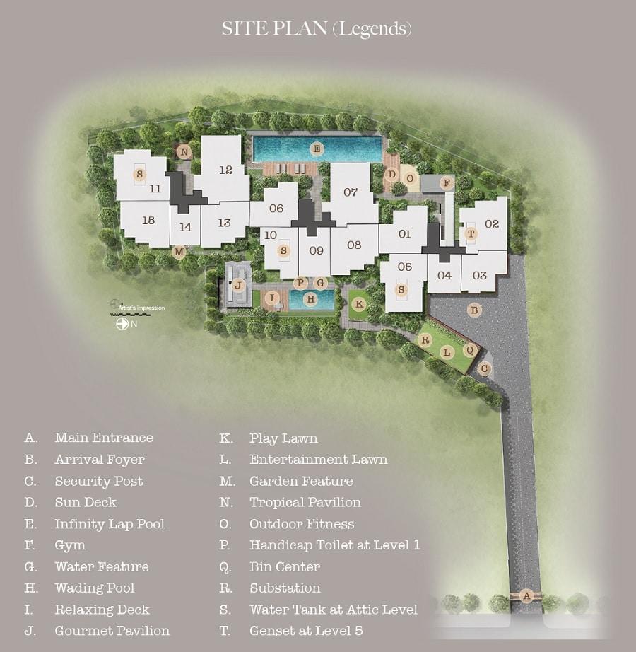 35 Glistead Site Plan